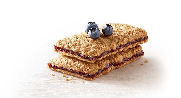 Blueberry & Peanut Butter Sandwich Bars