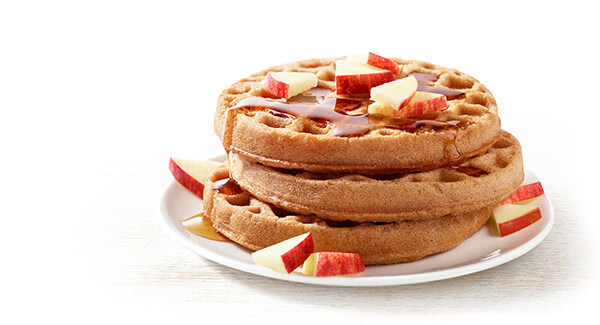 Gluten Free Waffles : Apple Cinnamon