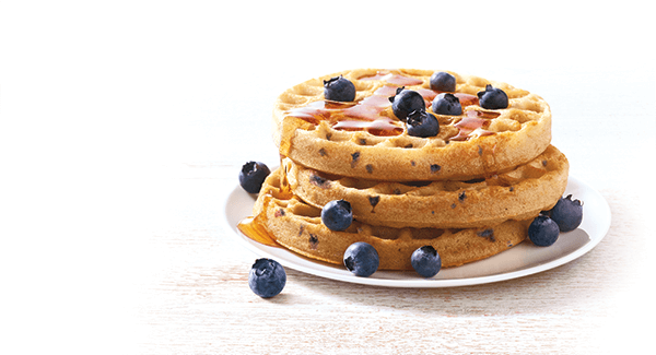 Power Grains® Waffles Blueberry