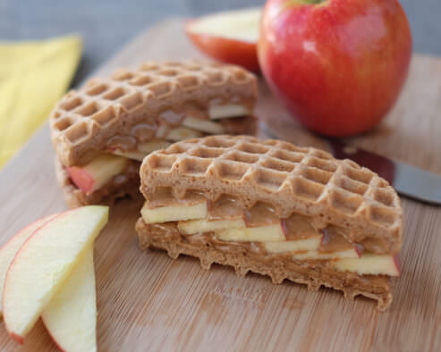 Apple & Almond Butter Sandwich