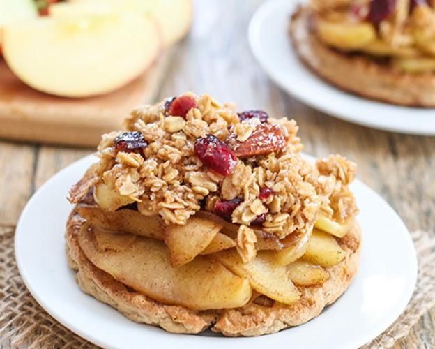 Apple Crisp Waffle