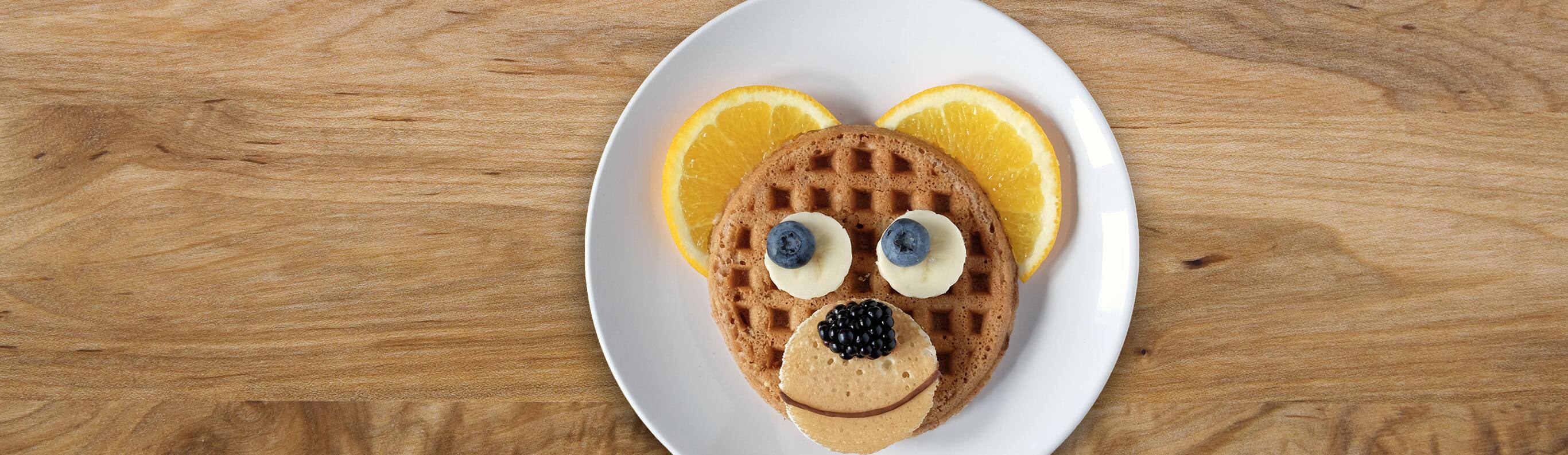 Bear Face Waffles