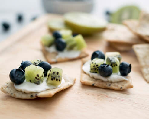 Blueberry Kiwi Crackers