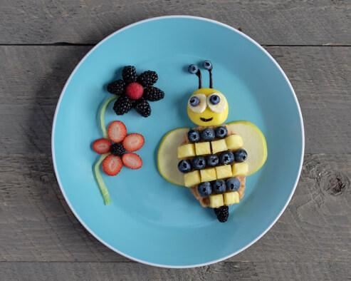 Buzzin Bee Waffles