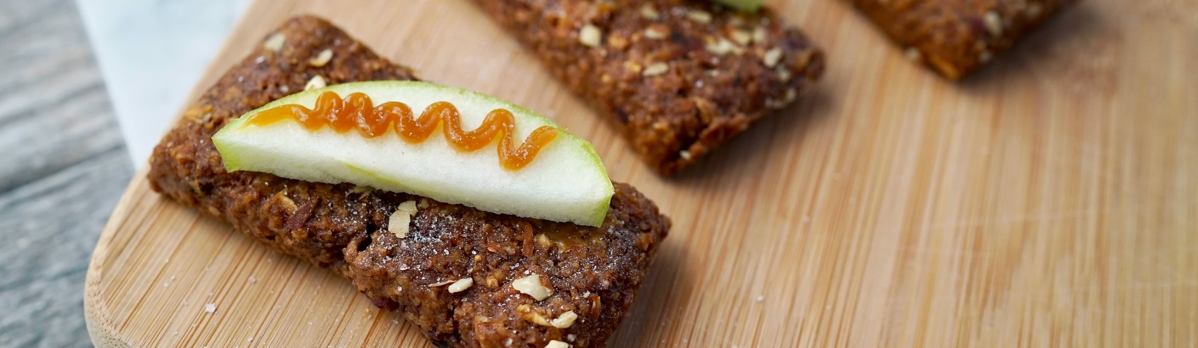 Caramel Apple Snack Bars