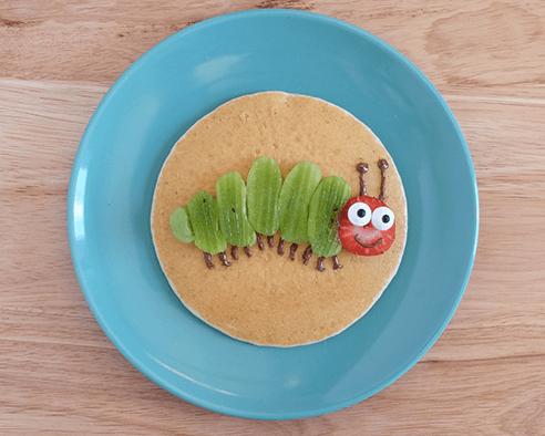 Caterpillar Pancakes