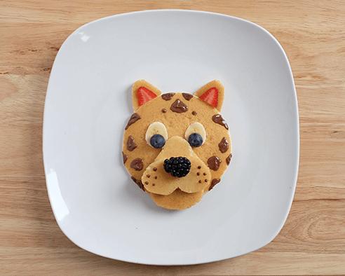 Cheetah Pancakes