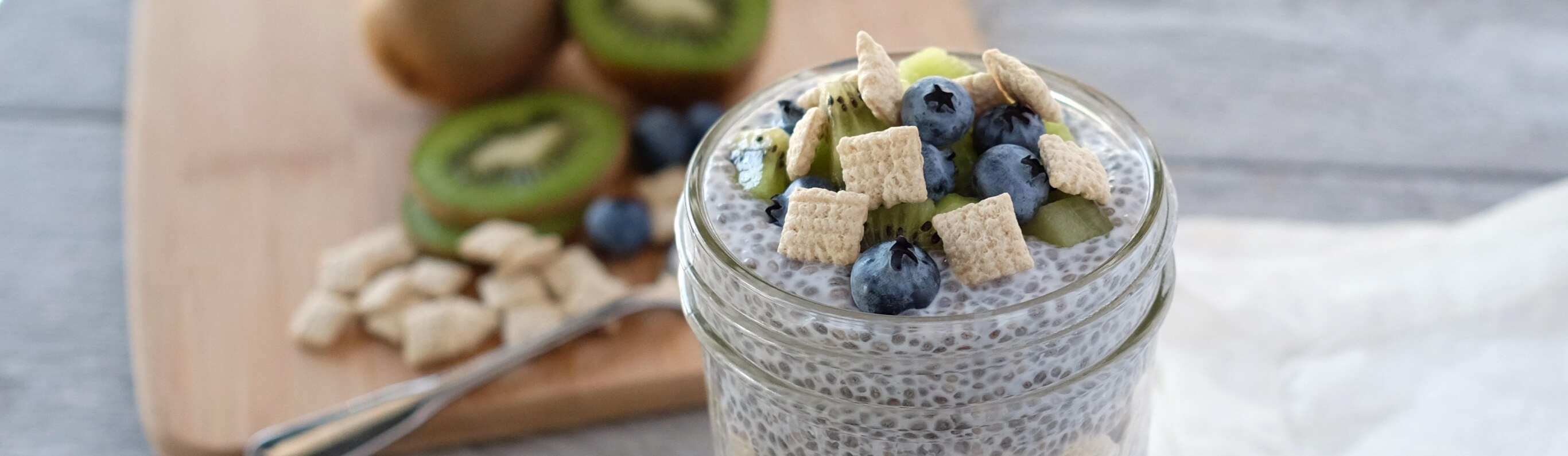Chia Pudding Cereal Parfait