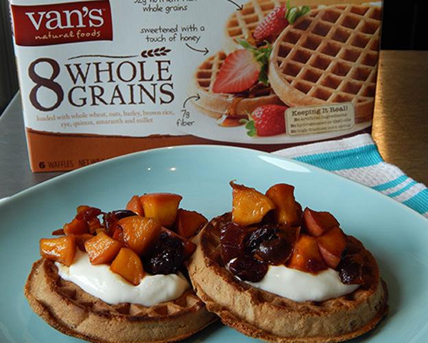 vans 8 whole grain waffles