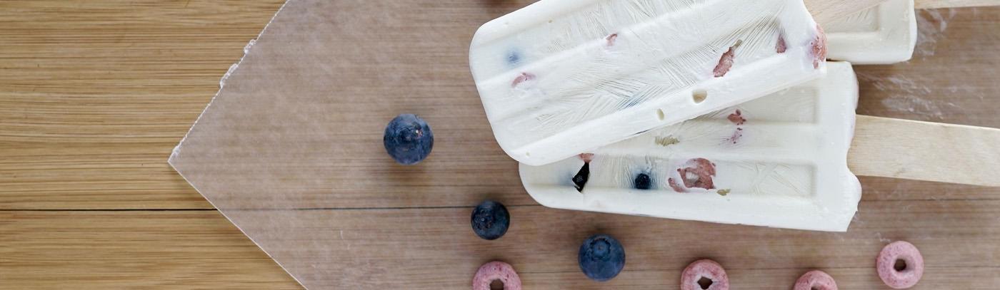 Frozen Yogurt Pops