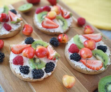 Fruity Summertime Waffles