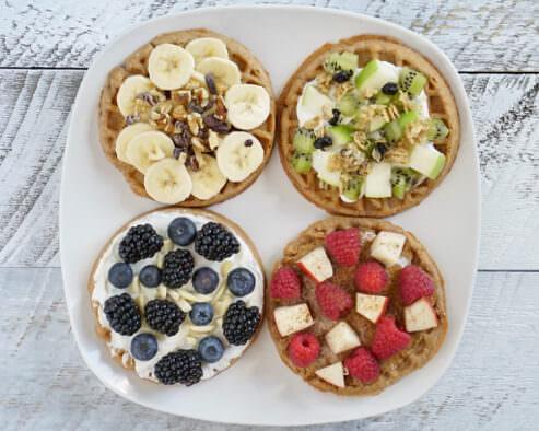 Fruity Waffle Platter