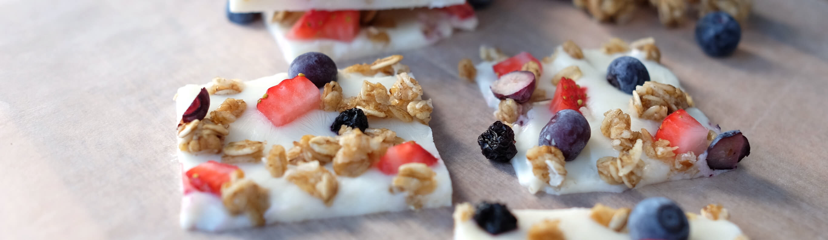 Greek Yogurt Breakfast Bark