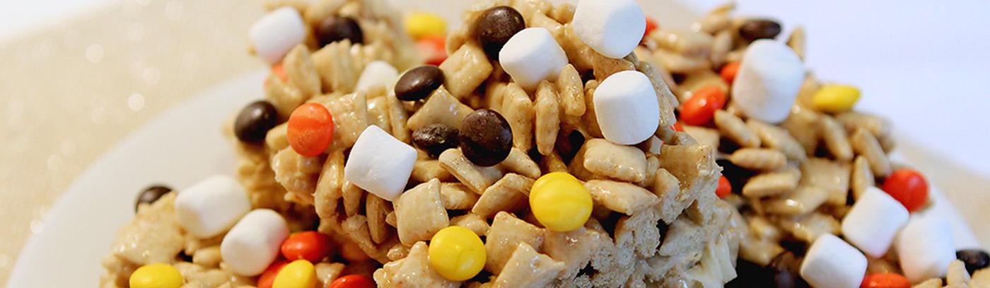 Halloween Cereal Bars