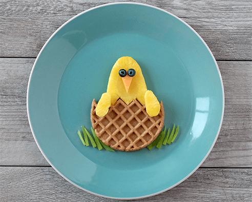 Hatching Chicken Waffles