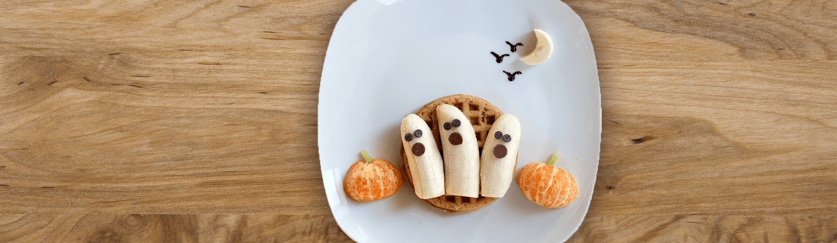 Haunted Halloween Waffles