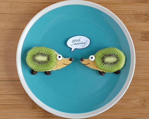 Hedgehog Pancakes