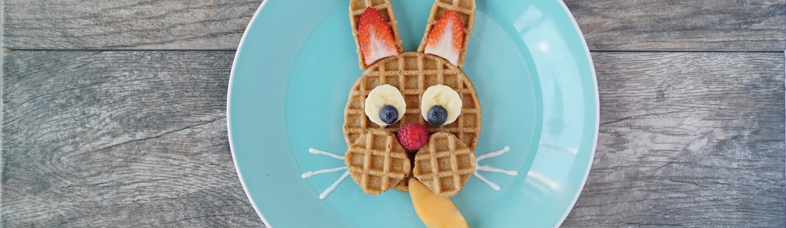 Hoppy Bunny Waffles