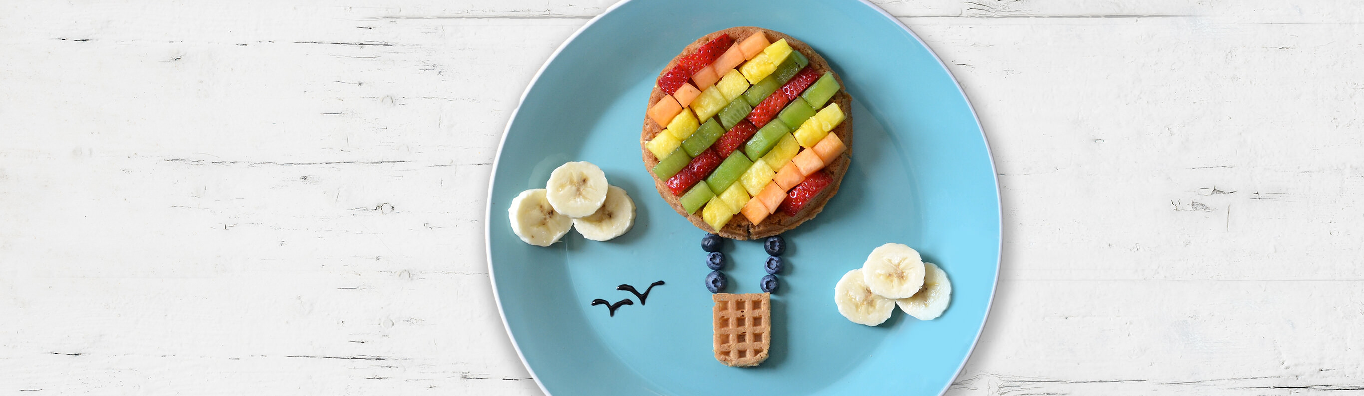 Hot Air Balloon Waffles