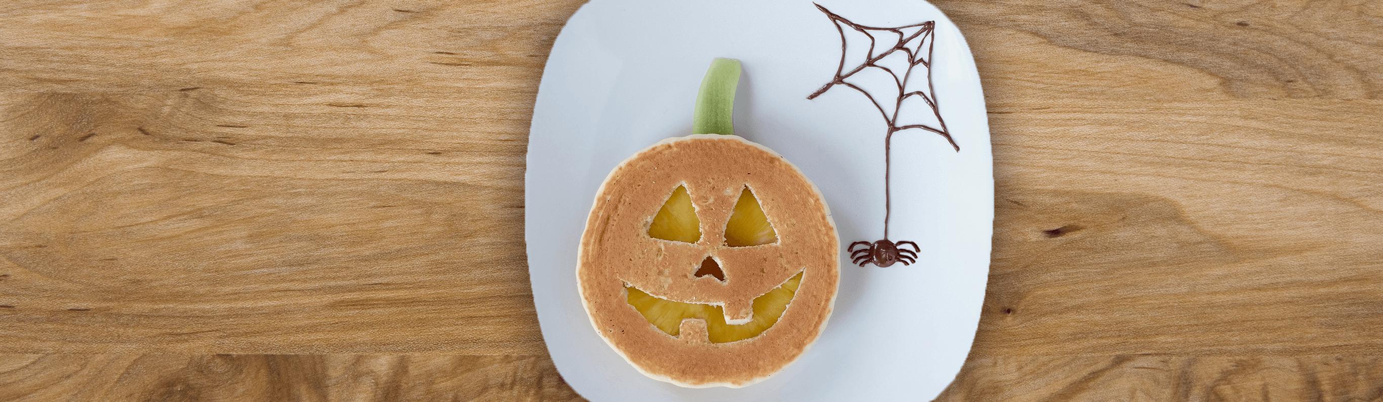 Jack-o'-Lantern Pancakes