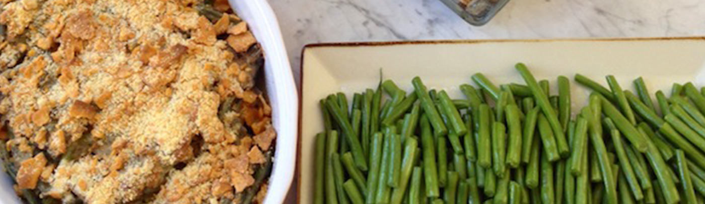 Not Your Grandmother's Green Bean Casserole