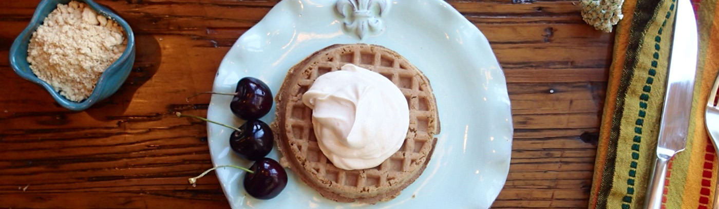 Peanut Butter Power Waffle Topping
