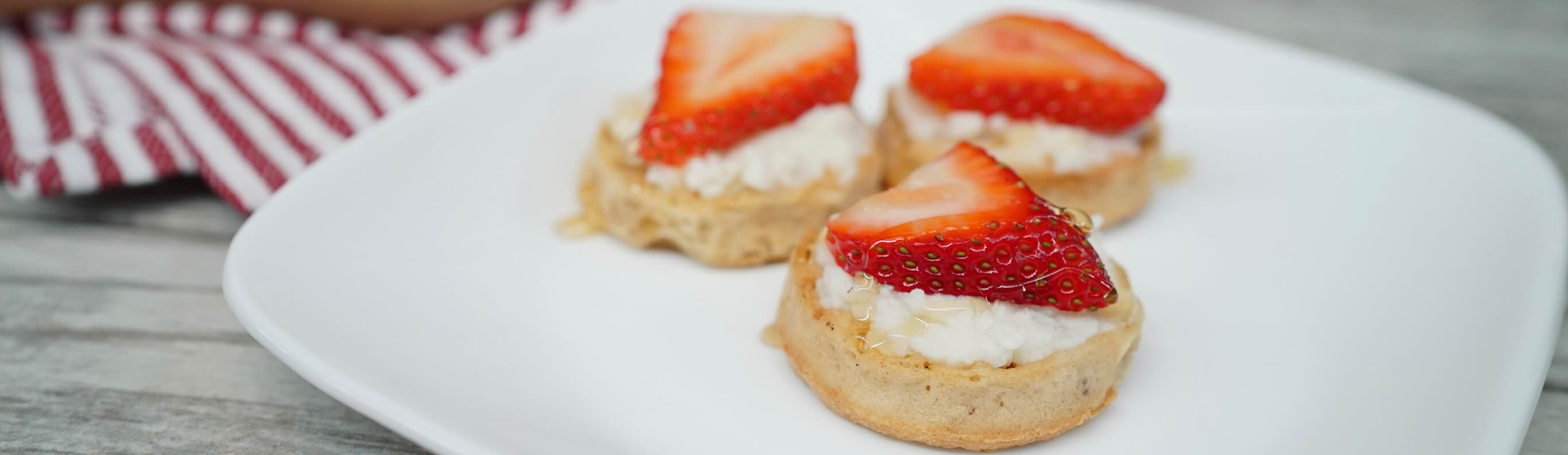 Strawberry and Honey Minis