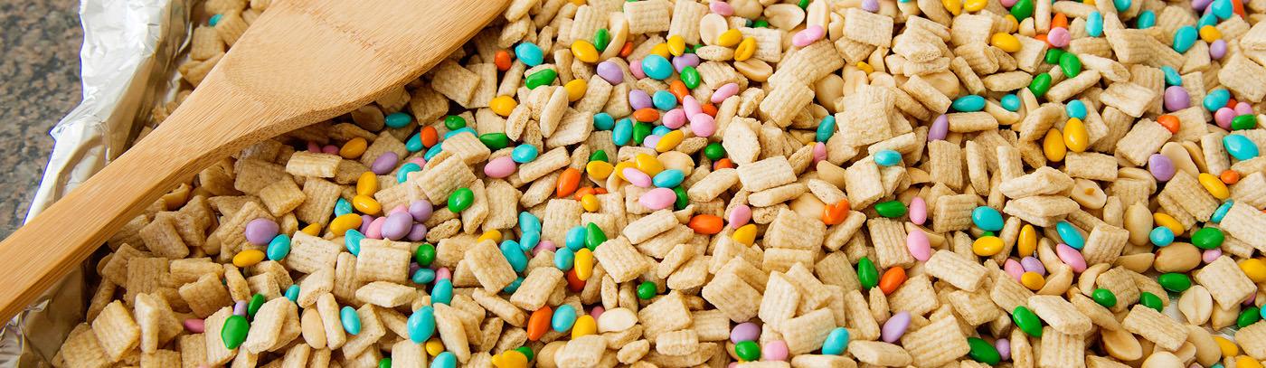 Summertime Honey Nut Crunch Snack Mix