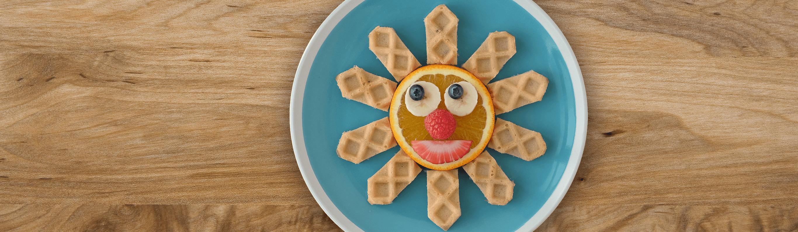Toasty Sunshine Waffles