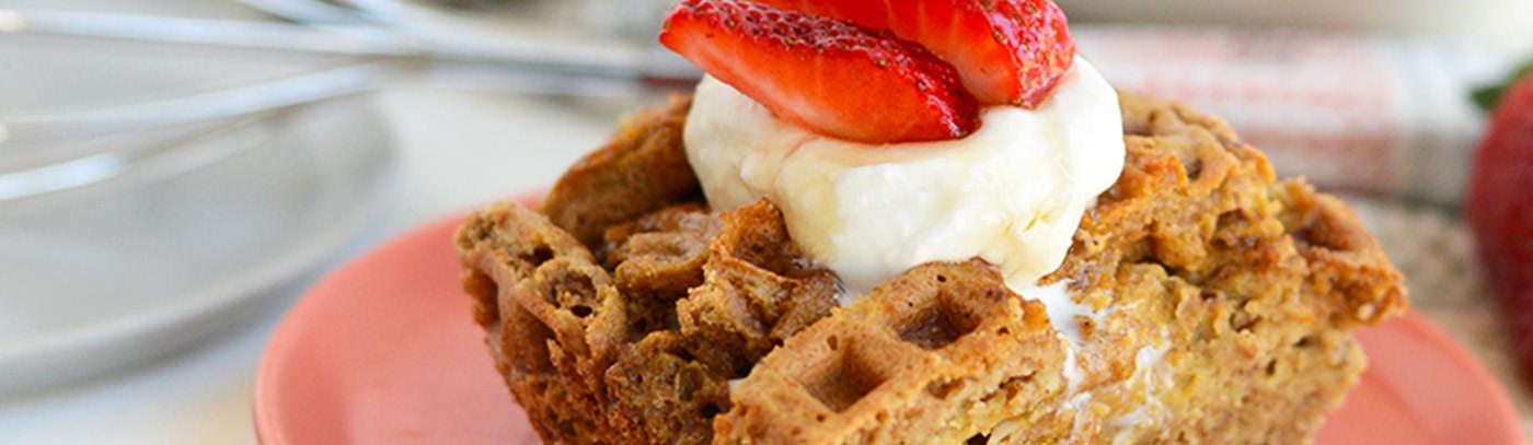 Waffle French Toast Bake